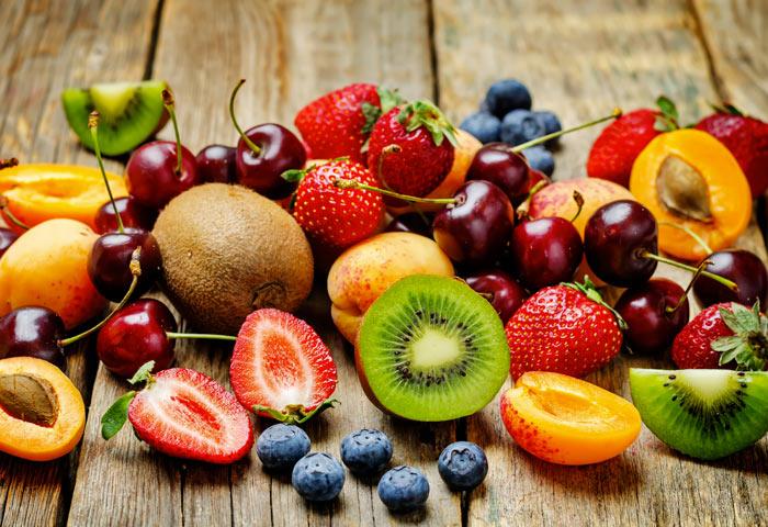 Colori della frutta e proprietà