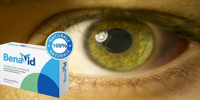 Benavid integratore per gli occhi