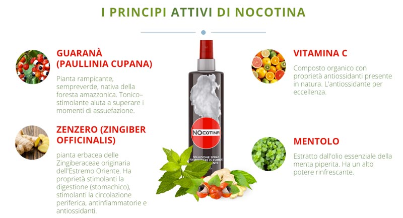 Ingredienti di Nocotina