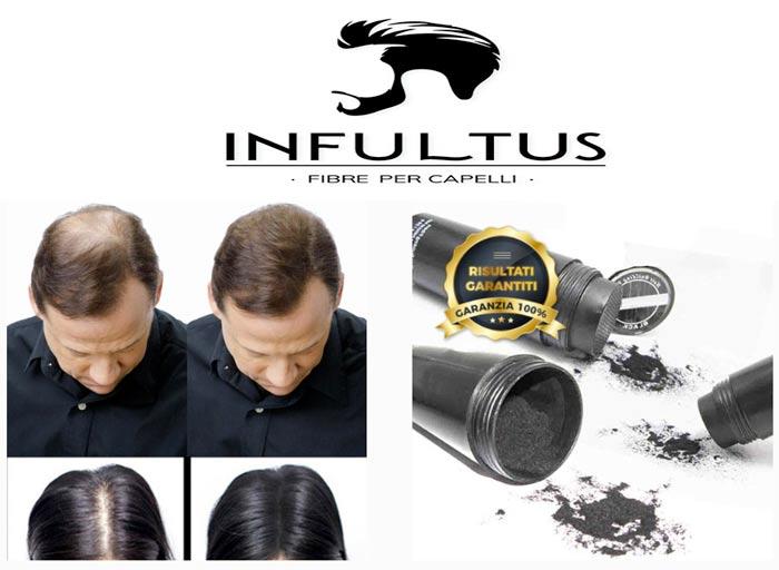 Infultus polvere per capelli
