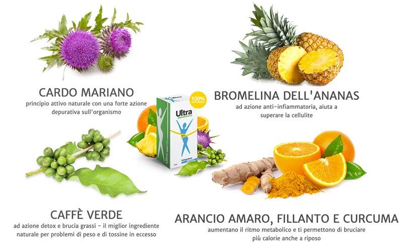 Ingredienti di Ultrametabolismo