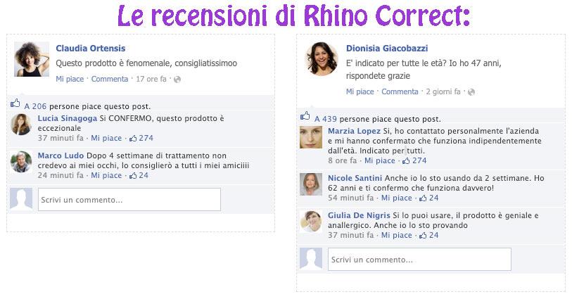 Opinioni su Rhino Correct