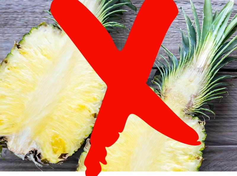 Controindicazioni della Bromelina dell ananas