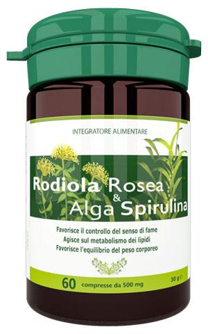 Integratore Rodiola Rosea e Alga Spirulina