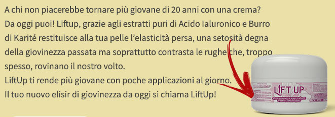Ingredienti di Lift Up