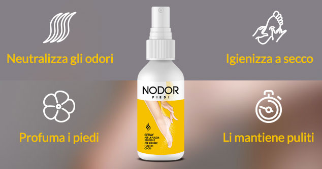 Spray anti odore Nodor Piedi