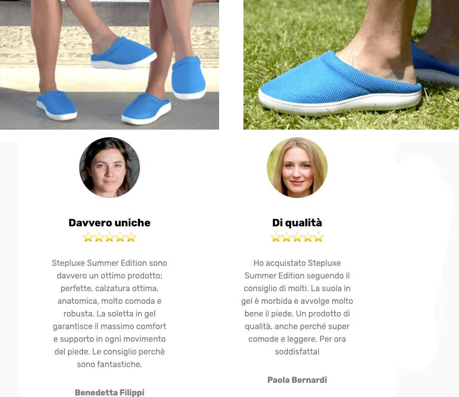 Opinioni su Step Luxe