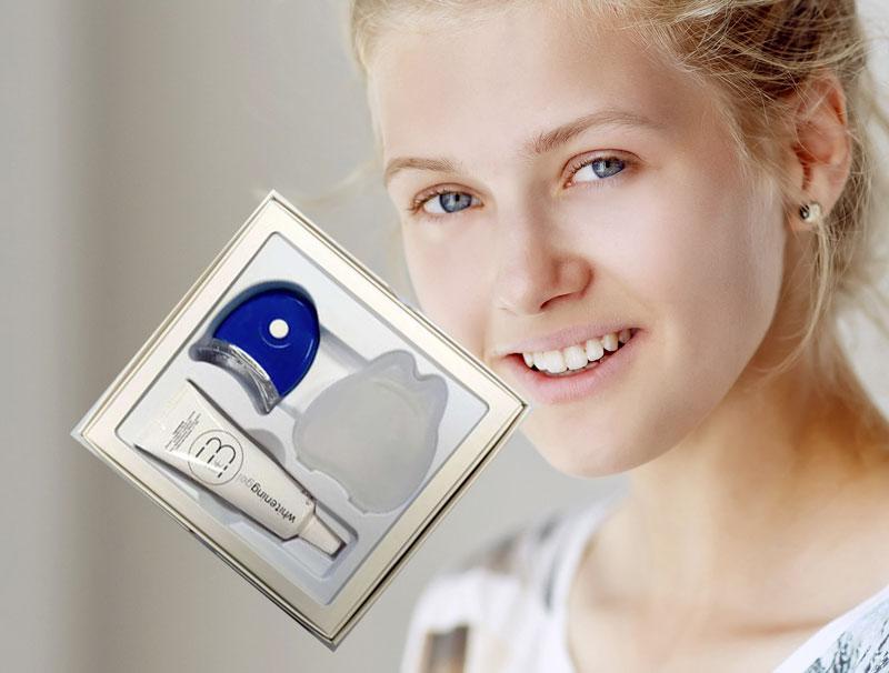 Extrabinaco sbianca denti