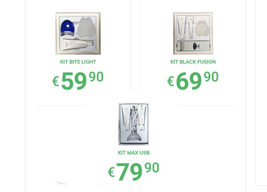 Costo di Extrabianco kit per sbiancare i denti