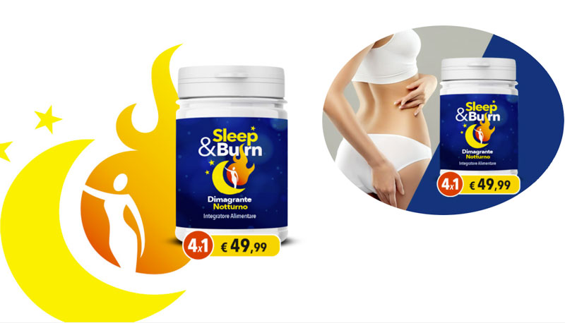Integratore Sleep E Burn