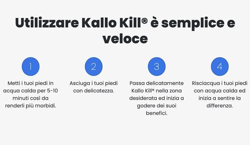 Come funziona Kallo Kill
