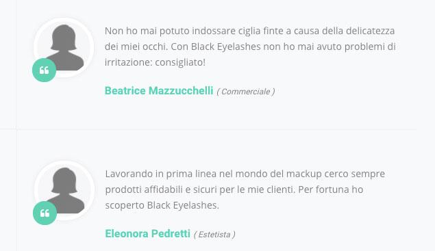 Opinioni e recensioni su Black Eyelashes