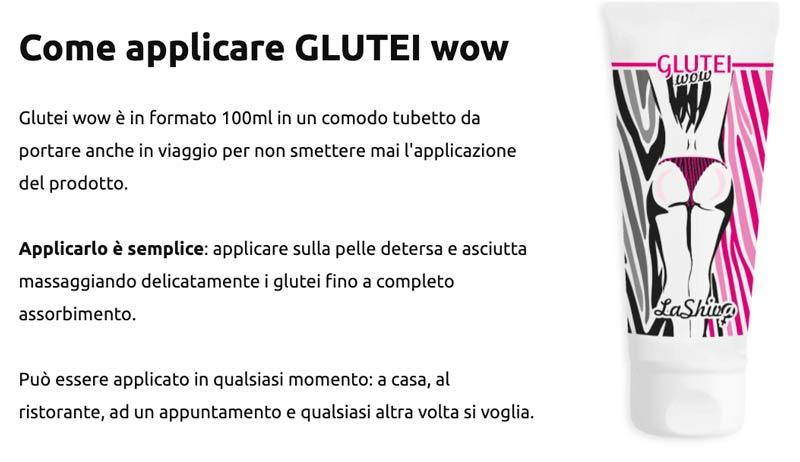 Come usare Glutei Wow