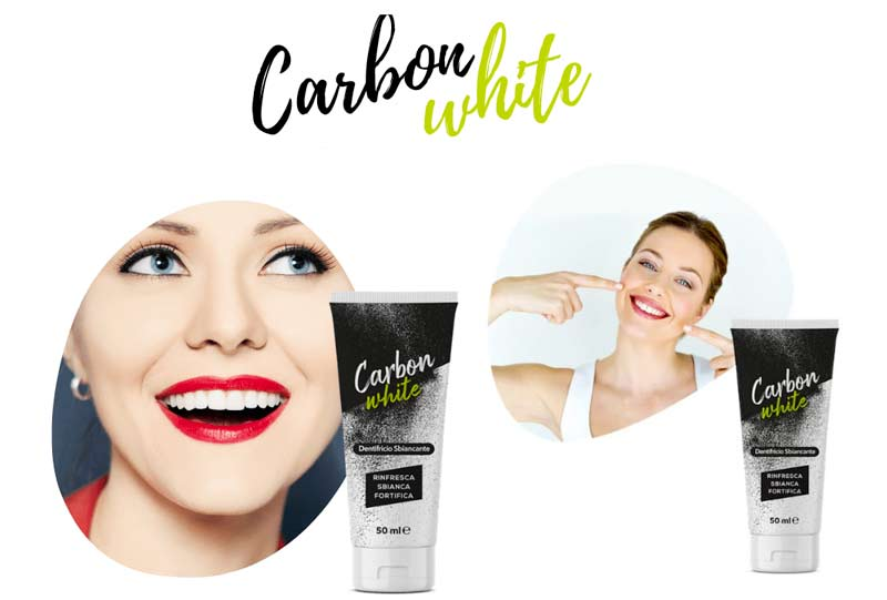 Carbon White dentifricio
